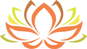 une fleur de lotus colorée